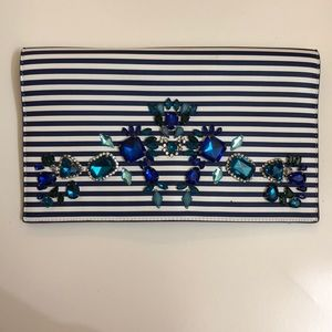 Express Bejeweled Clutch
